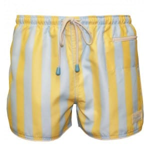 Oiler and Boiler East Hampton Retro Lemon Grove Swim Shorts