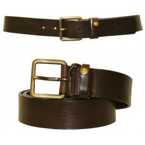 Ted Baker brown leather belt