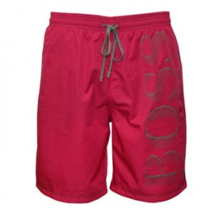 Hugo Boss Killifish Swim Shorts in pink