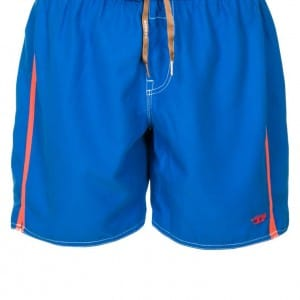9261 Diesel Double-waistband longer-length swim shorts blue