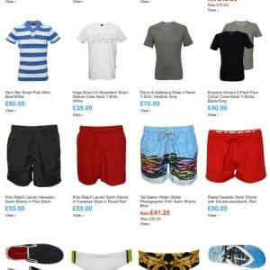 When sun returns choose swim shorts @UnderU