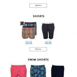 Gant Underwear SS16 collection