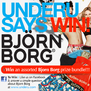 Win an assorted Bjorn Borg Prize Bundle with Under U!!