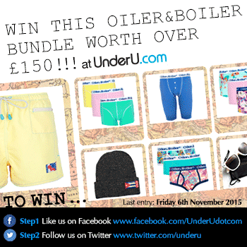 Oiler & Boiler Underwear Competition - Win our £150+ bundle