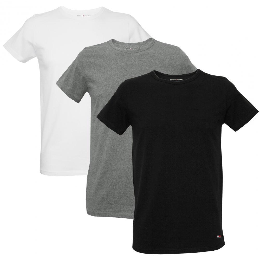 Tommy Hilfiger Men 39 S 3 Pack Stretch Cotton T Shirts White