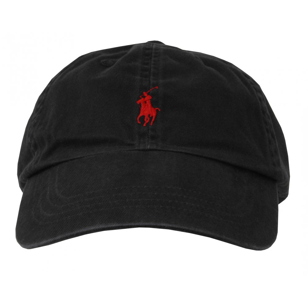 polo ralph lauren classic sport cap black ebay. Black Bedroom Furniture Sets. Home Design Ideas
