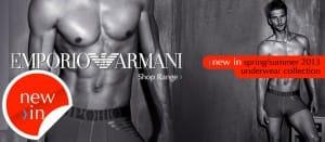 Emporio Armani SS13 Collection - Underwear & Swimwear new-in
