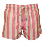 Oiler and Boiler East Hampton Shortie Jetty Pink Swim Shorts