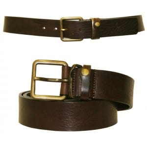 Ted Baker brown leather belt