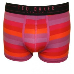 Ted Baker Orange Stripes Boxer Trunks from SS13 collection