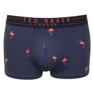 Ted Baker pink flamingo trunks