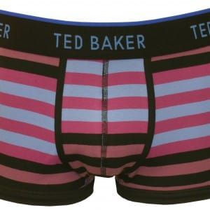 Ted Baker variagated boxer trunk purple (9452)
