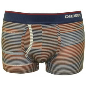 Diesel Fresh & Bright striped boxer trunks