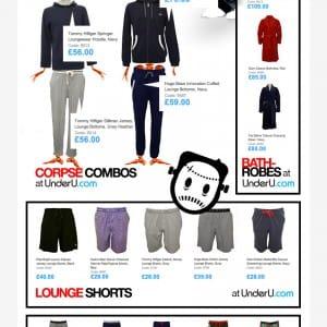 Men's Loungewear at UnderU.com