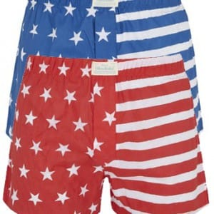 Oiler & Boiler stars and stripes boxer shorts