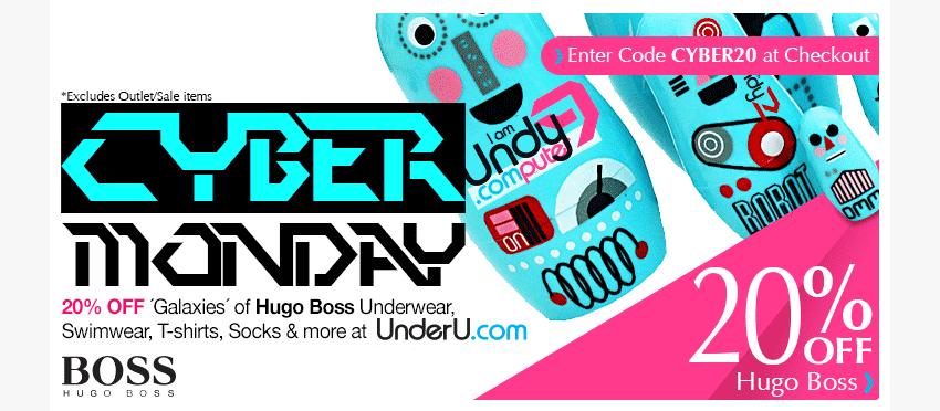 Hugo Boss Sale - 20% off all orders