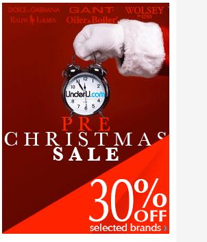 UnderU Pre-Christmas Sale