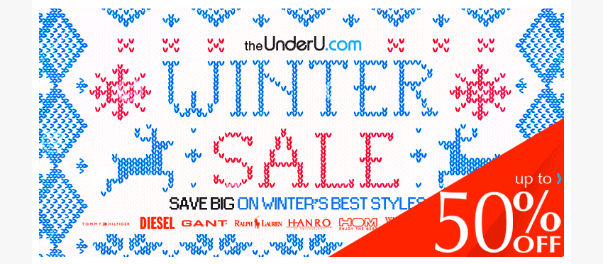 UnderU Winter Sale
