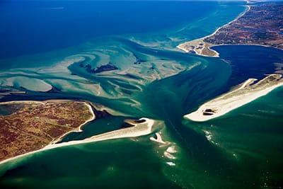 Ariel view of Tuckernuck Island - Oiler & Boiler | UnderU