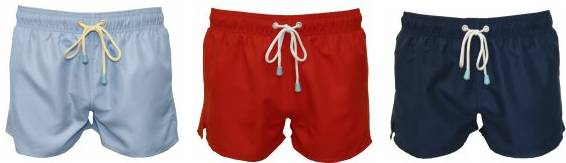 Shortie Swim Shorts from Oiler&Boiler's SS14 collection at UnderU.com