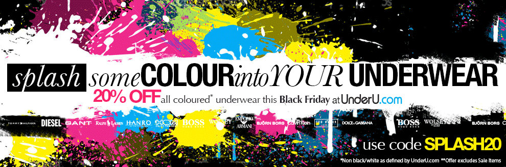 Splash some Colour into your Men's Underwear | UnderU