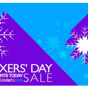 UnderU Boxers Day Sale - boxer trunks sale