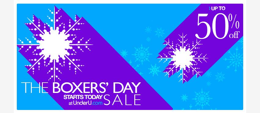 Boxers Day Sale | Men's Boxer trunk & Men's Boxer Short Sale | UnderU