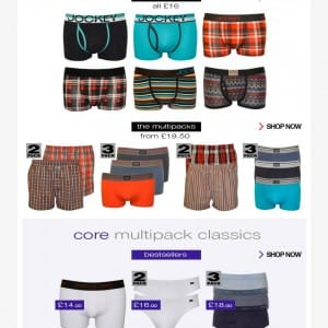 Jockey underwear in focus - UnderU