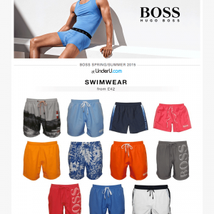 Hugo Boss SS15 Swimshorts