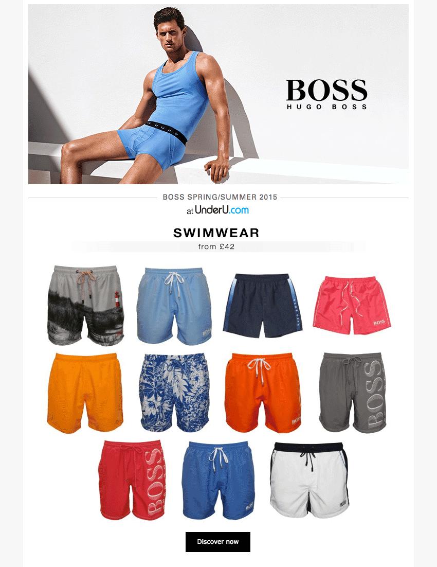 Hugo Boss Swim Shorts 2015 Collection | UnderU