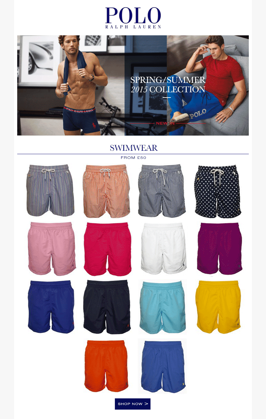 Polo Ralph Lauren Swim Shorts | UnderU