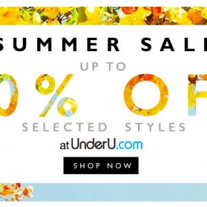 UnderU Summer Sale