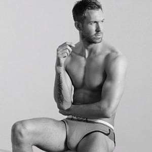 Emporio Armani Underwear and Calvin Harris men's brief campaign