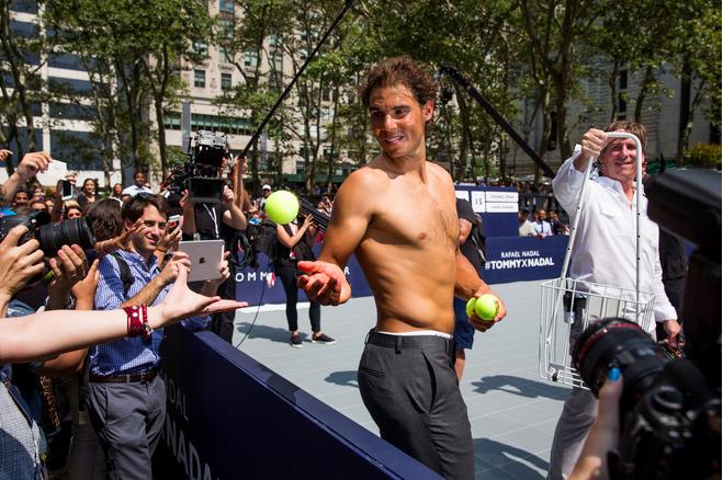Rafael Nadal & Tommy Hilfiger Underwear Campaign | UnderU