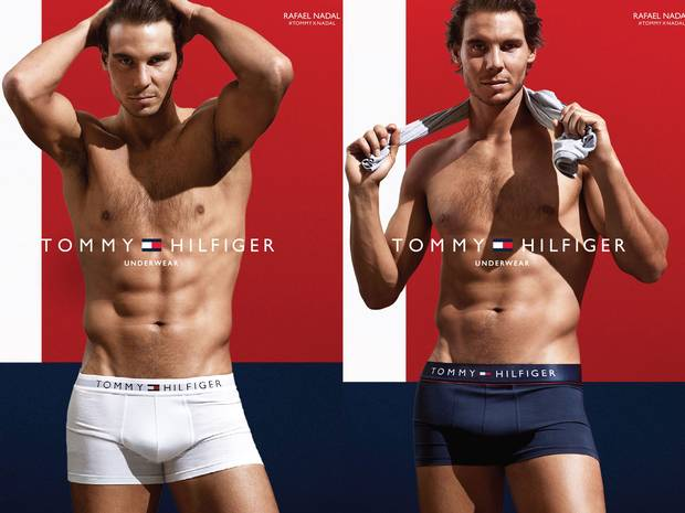 Tommy Hilfiger campaign with Rafael Nadal.