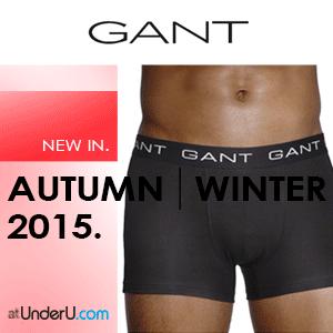 AW15 Gant Underwear Collection