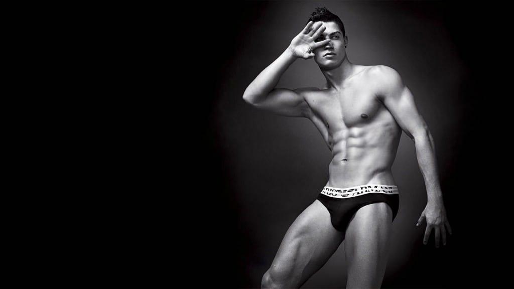 Armani mens boxers and Cristiano Ronaldo