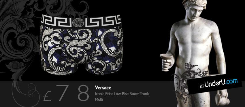 Versace Men's Designer Boxers at UnderU