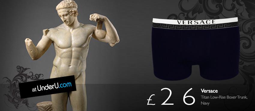 Men's Versace underwear & Boxer Trunks at UnderU