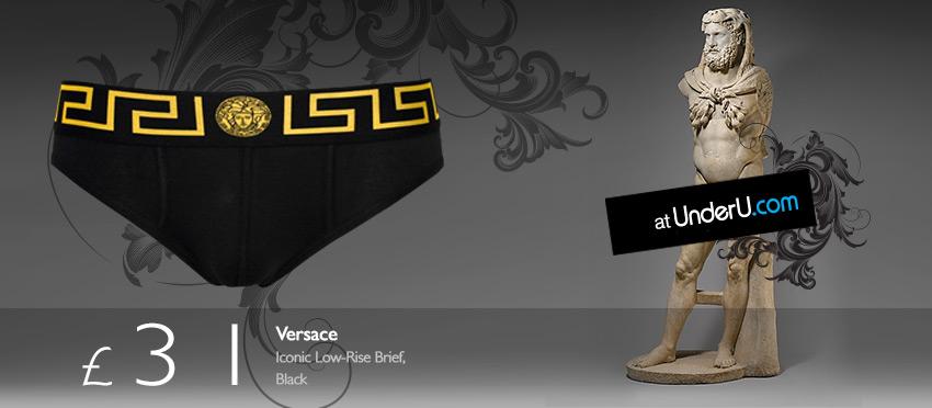 Versace Men's Designer Briefs from UnderU