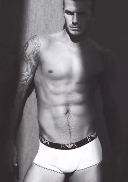 Emporio Armani Briefs and David Beckham
