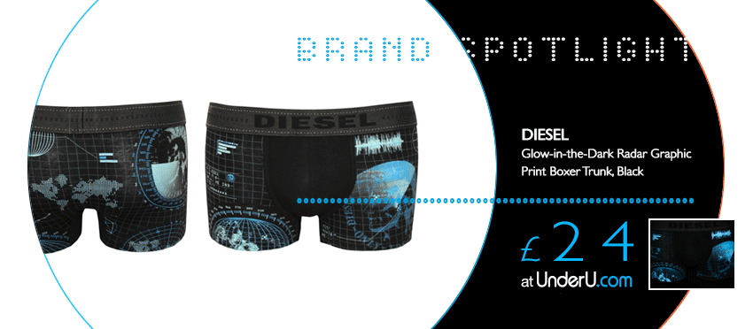 Diesel Boxers and Men's Boxer Shorts available at UnderU