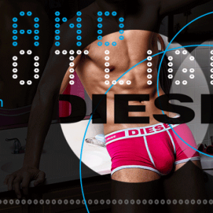 Diesel AW15 Mens Underwear Collection