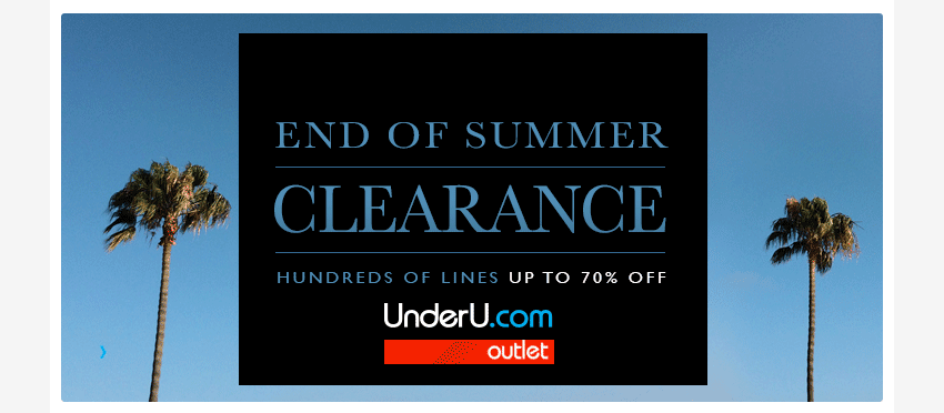 End of Summer Men's Underwear Clearance Sale here at UnderU