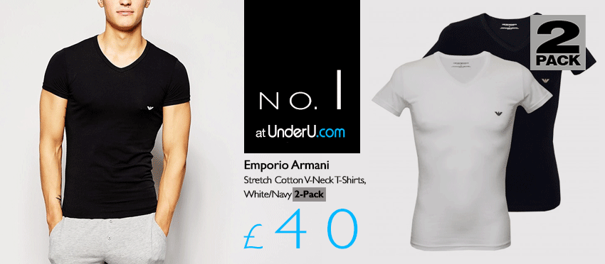 Emporio Armani Underwear & Armani Men's T-shirt | UnderU