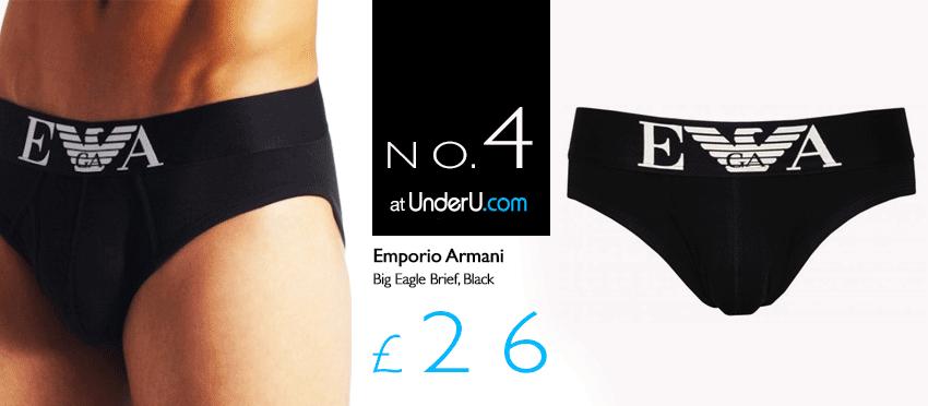 Emporio Armani Mens Briefs | UnderU