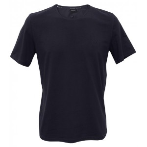 Navy Hugo Boss Mens Tshirt | UnderU