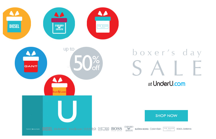 Men's Boxers' Day, men's underwear, men's designer swimwear sale | UnderU