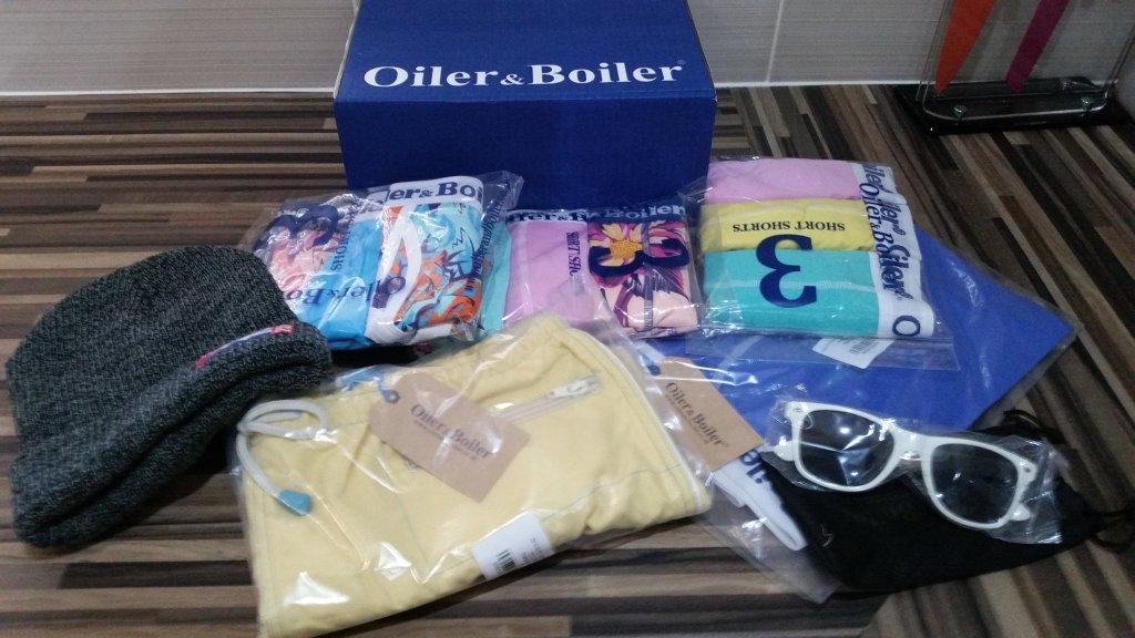 Oiler & Boiler underwear bundle | UnderU