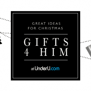 UnderU Christmas giftguide